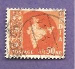 Stamps : Asia : India :  INTERCAMBIO