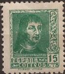 Stamps Europe - Spain -  Fernando el Católico  1938  15 ctms