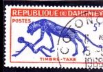 Stamps of the world : Benin :  PINTURA RUPESTRE