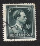 sellos de Europa - Bélgica -  Rey Leopoldo III con 'V'