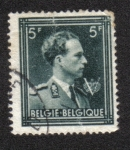 Stamps : Europe : Belgium :  Rey Leopoldo III con
