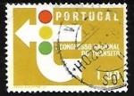sello : Europa : Portugal : Señal de transito