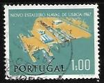 Sellos de Europa - Portugal -  Nuevo astillero naval de Lisboa