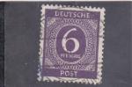 sellos de Europa - Alemania -  CIFRA