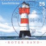 Stamps Germany -  ROTER SAND