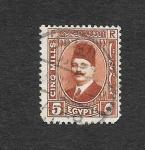 Sellos de Africa - Egipto -  135 - Rey Fuad I