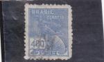 Stamps : America : Brazil :  MERCURIO