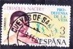 Stamps Spain -  DEJADLOS NACED (32)