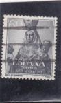 Stamps Spain -  VIRGEN DE COVADONGA (32)