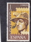 Stamps : Europe : Spain :  DIA MUNDIAL DEL SELLO-62 (32)