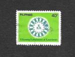 Sellos de Asia - Filipinas -  Movimiento de Solidaridad Nacional