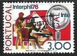 Stamps : Europe : Portugal :  Exposicion filatelica 1976