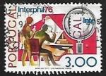 Stamps Europe - Portugal -  Exposicion filatelica 1976