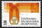 Stamps Europe - Portugal -  Centenario de la Caja general de depositos