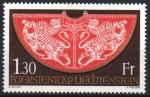 Stamps : Europe : Liechtenstein :  TÚNICA  DE  CORONACIÓN