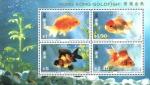 Stamps : Asia : Hong_Kong :  PECES  DORADOS