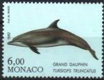 Stamps : Europe : Monaco :  GRAN  DELFIN.  TURSIOPS  TRUNCATUS.