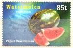 Stamps : Oceania : Papua_New_Guinea :  FRUTAS  TROPICALES.  SANDÍA.