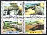 Stamps : America : Panama :  CROCODYLUS  ACUTUS