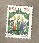Sellos de Africa - Sudáfrica -  Navidades 1996