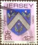 Sellos de Europa - Reino Unido -  Scott#258 intercambio, 0,30 usd, 12 pen. 1981