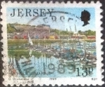 Sellos de Europa - Reino Unido -  Scott#486 intercambio, 0,45 usd, 13 pen. 1989