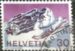 Stamps of the world : Switzerland :  Scott#533 intercambio, 0,30 usd, 30 cents. 1971