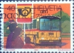 Stamps of the world : Switzerland :  Scott#688 intercambio, 0,25 usd, 40 cents. 1980