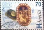 Sellos de Europa - Suiza -  Scott#978 intercambio, 0,40 usd, 70 cents. 1996