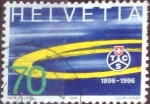 Stamps of the world : Switzerland :  Scott#966 intercambio, 0,50 usd, 70 cents. 1996