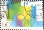 Stamps of the world : Switzerland :  Scott#886 intercambio, 0,25 usd, 50 cents. 1991