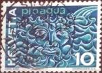 Sellos de Europa - Suiza -  Scott#436 intercambio, 0,20 usd, 10 cents. 1964