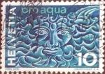 Stamps Switzerland -  Scott#436 intercambio, 0,20 usd, 10 cents. 1964