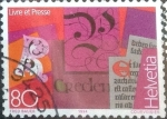 Sellos de Europa - Suiza -  Scott#943 intercambio, 0,85 usd, 80 cents. 1994