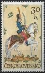 Stamps : Europe : Czechoslovakia :  AZULEJO  DE  HUSSAR
