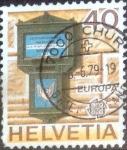 Sellos de Europa - Suiza -  Scott#675 intercambio, 0,35 usd, 40 cents. 1979