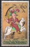 Stamps : Europe : Czechoslovakia :  AZULEJO  DE  JARISSARY