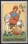 Stamps : Europe : Czechoslovakia :  AZULEJO  DE  SAN  MARTÍN