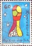Stamps Switzerland -  Scott#949 intercambio, 0,35 usd, 60 cents. 1994