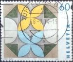 Stamps of the world : Switzerland :  Scott#934 intercambio, 0,40 usd, 60 cents. 1993
