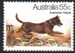 Stamps : Oceania : Australia :  KELPIE  AUSTRALIANO
