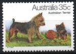 Stamps : Oceania : Australia :  TERRIER  AUSTRALIANO