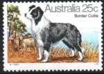 Stamps : Oceania : Australia :  BORDER  COLLIE