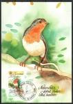 Stamps : Europe : Liechtenstein :  ROBIN