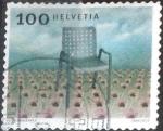 Stamps : Europe : Switzerland :  Scott#1170 intercambio, 0,30 usd, 100 cents. 2004