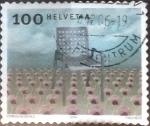 Sellos de Europa - Suiza -  Scott#1170 intercambio, 0,30 usd, 100 cents. 2004