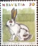 Sellos de Europa - Suiza -  Scott#872 intercambio, 0,65 usd, 70 cents. 1991