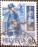 Sellos de Europa - Suiza -  Scott#789 intercambio, 0,80 usd, 80 cents. 1986