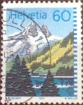 Stamps Switzerland -  Scott#905 intercambio, 0,25 usd, 60 cents. 1993