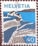 Sellos de Europa - Suiza -  Scott#564 intercambio, 0,20 usd, 40 cents. 1973